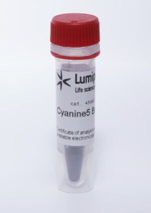 Cyanin-5-Boc-hydrazid, 430A0
