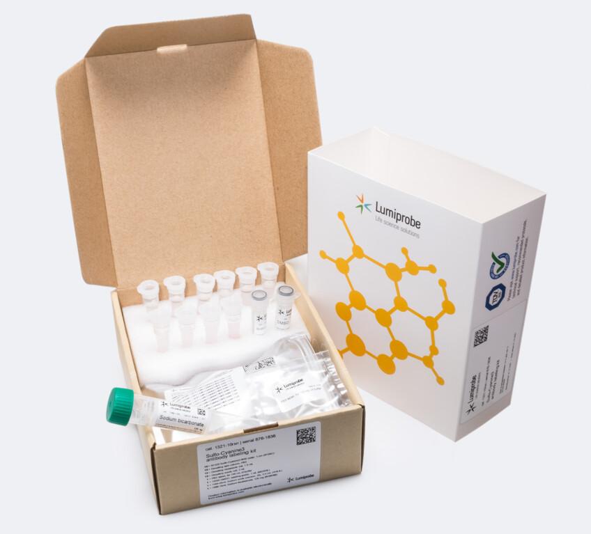sulfo-Cyanine3 antibody labeling kit, 1321-10rxn