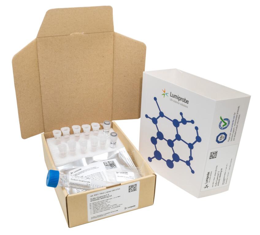 Sulfo-Cyanine7.5-Antikörpermarkierungskit, 6321-10rxn
